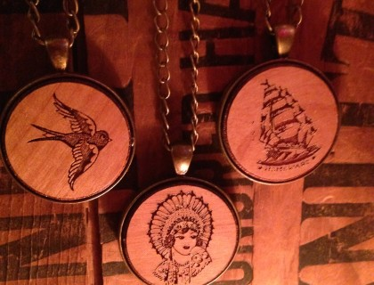Wooden Pendants